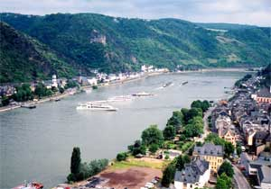 St. Goar, Germany - Rhine Photo Two